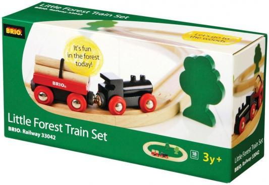 Железная дорога Brio с грузовым поездом железная дорога со светофором экспресс поездом brio 33511