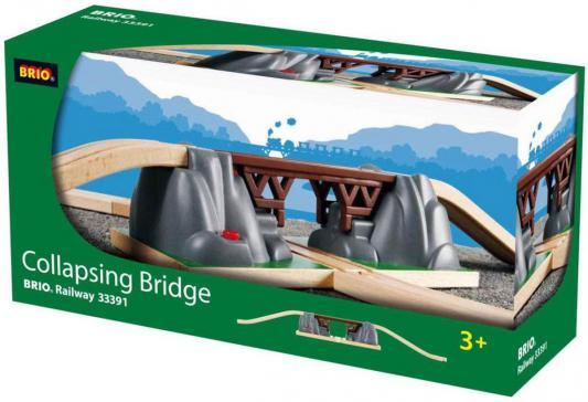 Падающий ж/д мост Brio 33391 погрузчик ж д brio с подъемником и фигуркой