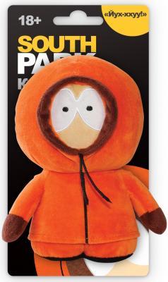 Мягкая игрушка 1TOY Южный парк: Кенни с чипом текстиль оранжевый 12 см Т57487