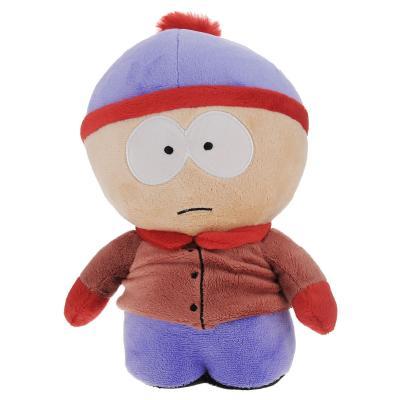 Мягкая игрушка герой мультфильма 1TOY Южный парк - Стэн со звуком плюш разноцветный 22 см Т57481