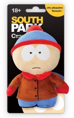 Мягкая игрушка 1TOY Южный парк: Стэн с чипом текстиль разноцветный 12 см Т57485