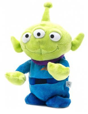 Мягкая игрушка 1TOY Disney Шагающий Инопланетянин плюш синий зеленый 21 см Т55825