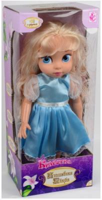 """Кукла 1Toy Красотка """"Волшебная Сказка"""" 40 см говорящая Т58296 1toy игровой набор с куклой красотка волшебная сказка спальня"""