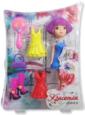 Красотка фэшн кукла с аксессуарамиТ57127