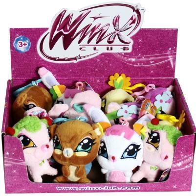 Мягкая игрушка-подвеска - питомцы Winx, 12 см Т56587