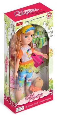 Купить Кукла Zhorya Ирина со звуком Х76254, пластик, Интерактивные куклы