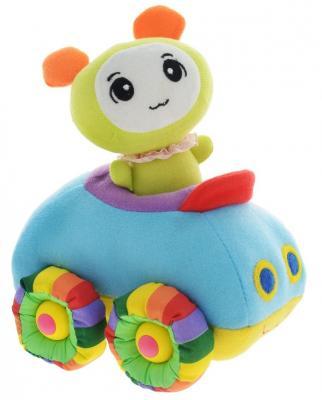 Мягкая игрушка машинка Tongde Радужный транспорт разноцветный 18 см В72426