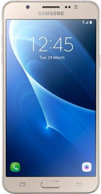 "Смартфон Samsung Galaxy J7 2016 золотистый 5.5"" 16 Гб LTE Wi-Fi GPS NFC SM-J710FZDUSER"