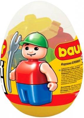Конструктор Bauer Игрушка в яйце 7 элементов в ассортименте игрушка bauer спецназ 285
