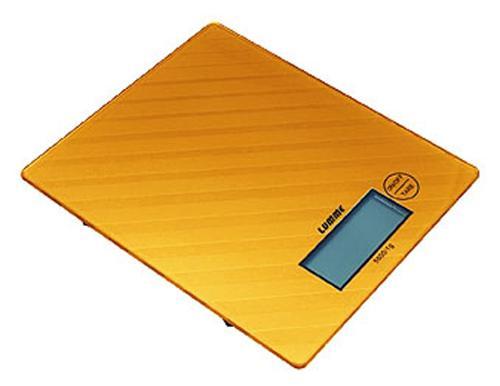 Весы кухонные Lumme LU-1318 оранжевый