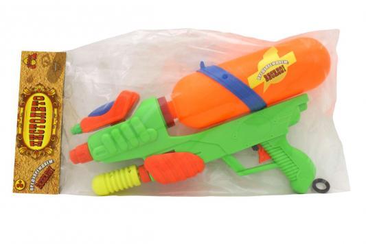 Водный пистолет Тилибом с двумя отверстиями для мальчика T80458 водный пистолет тилибом с 2 отверстиями 30 см
