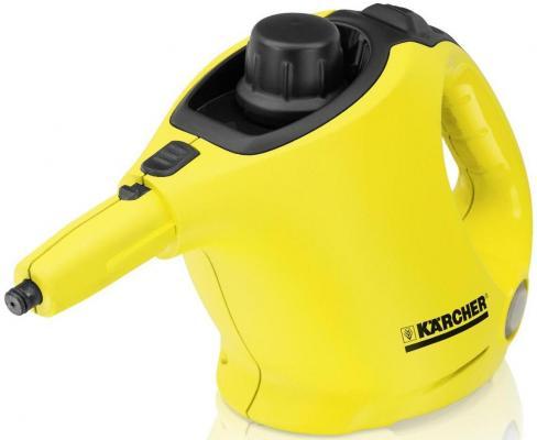 Пароочиститель Karcher SC 1 EU + Floorkit черно-желтый 1.516-271.0 karcher sc 2 eu 1 512 000