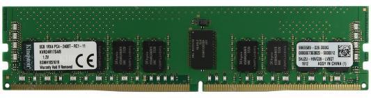 Оперативная память 8Gb PC4-19200 2400MHz DDR4 DIMM Kingston ECC KVR24R17S4/8