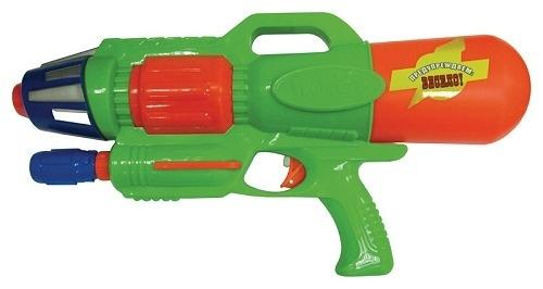 Водный пистолет Тилибом с помпой 44см зеленый для мальчика