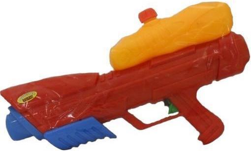 Водный пистолет Тилибом с помпой 45см красный для мальчика