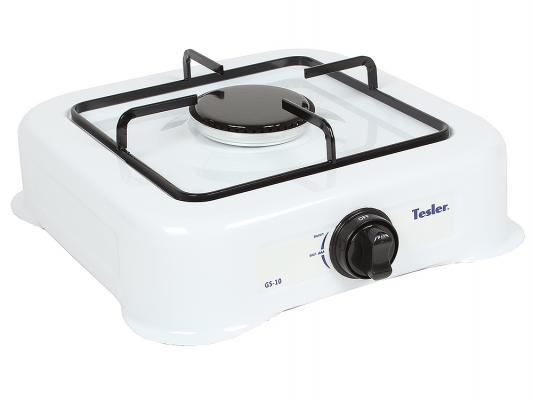 Газовая плитка TESLER GS-10 белый электрическая плитка tesler pe 10 white pe 10 white