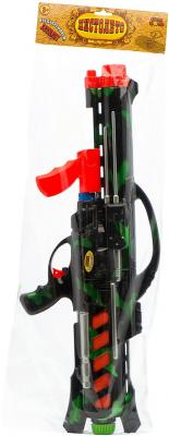 Водяной автомат Тилибом военный с помпой черный для мальчика