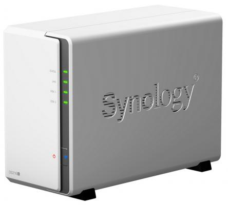 Сетевой накопитель Synology DS216j