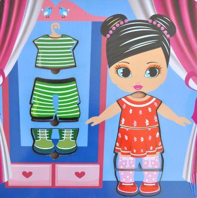 Рамка-вкладыш Wood Toys Рамка-вкладыш - Гардероб 1 рамка вкладыш мастер игрушек распорядок дня 11 деталей