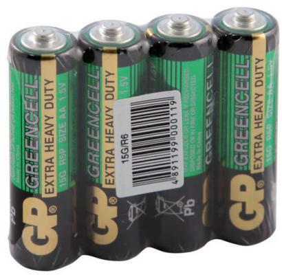 Батарейки GP 15G-OS4 AA 4 шт