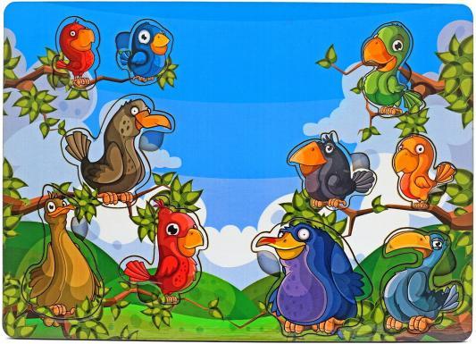 Рамка-вкладыш Wood Toys Веселые птахи
