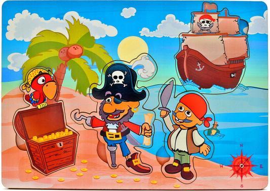 Рамка-вкладыш Wood Toys Капитан Крюк