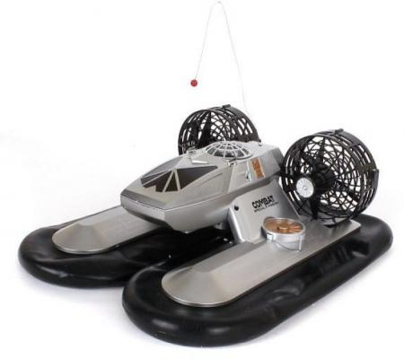 Катер на радиоуправлении Shantou Gepai на воздушной подушке пластик от 3 лет 6653 робот на радиоуправлении shantou gepai бласт пластик металл от 3 лет серый