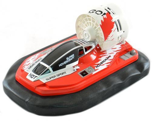 Катер на радиоуправлении Shantou Gepai на воздушной подушке пластик от 3 лет красный 6649 катер на радиоуправлении shantou gepai yacht racing пластик от 3 лет цвет в ассортименте 4 канала