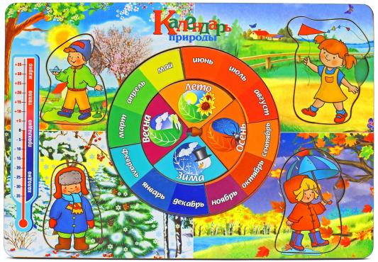 Рамка-вкладыш Wood Toys Календарь природы