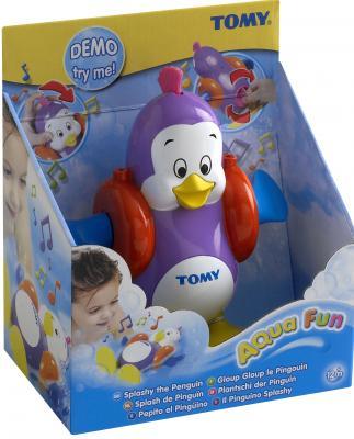 Заводная игрушка для ванны Tomy Плескающийся Пингвин игровые наборы tomy britains big farm фермерский прицеп со свинками