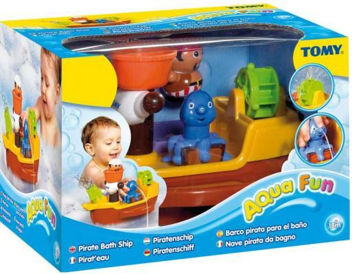 Игровой набор для ванны Tomy Пиратский корабль tomy игровой набор horse trailer with horses