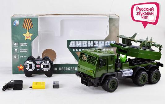 Военный автомобиль на радиоуправлении Tongde В72398 пластик от 3 лет зелёный