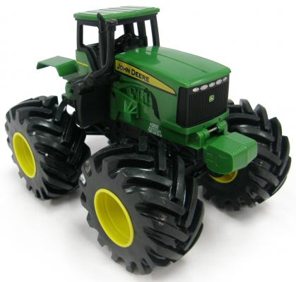 Трактор Tomy John Deere - Monster Treads зеленый машины tomy трактор john deere 6210r