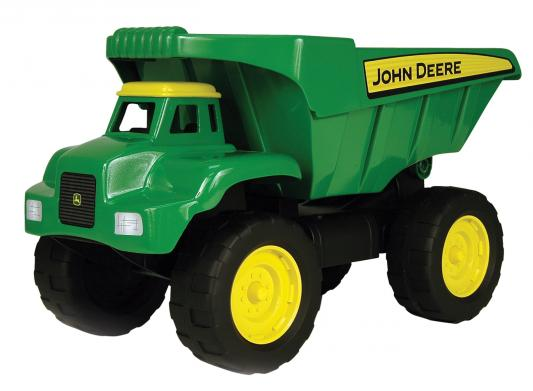 Самосвал Tomy John Deere большегрузный зеленый 41 см 42928 машины tomy трактор john deere monster treads с большими резиновыми колесами