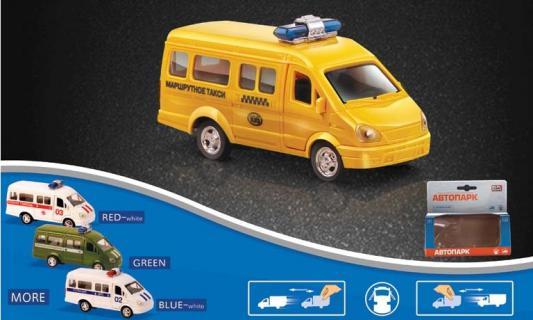 Микроавтобус Play Smart инерционный желтый Р41114