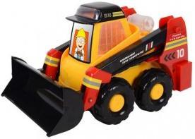 Гусеничный трактор Zhorya Сила техники желтый 30 см Х76243 zhorya гусеничный трактор сила техники х76181