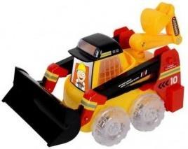 Гусеничный трактор Zhorya Сила техники желтый 30 см Х76180 гусеничный трактор zhorya сила техники х76179