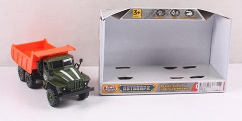 Самосвал Play Smart Автопарк инерционный со светозвуковыми эффектами Р41438 набор игровой со светозвуковыми эффектами brio парк развлечений 33740