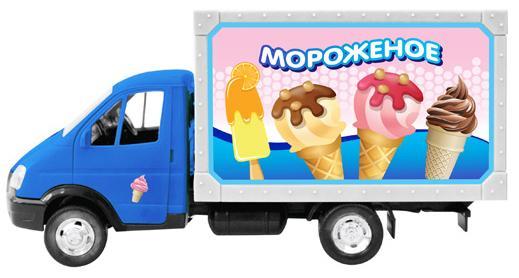 "Фургон Play Smart ""Мороженное"""