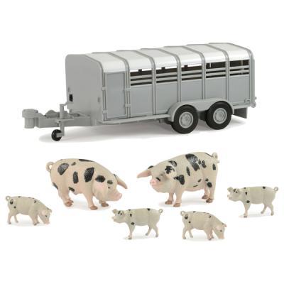 Набор Tomy Фермерский прицеп со свинками 8887856918787