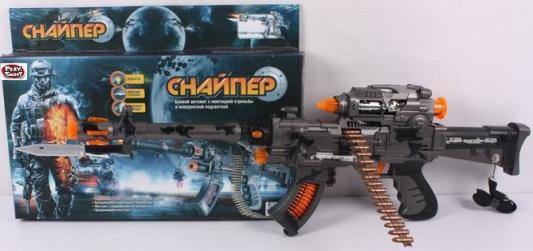 Автомат Play Smart Снайпер черный для мальчика Р41399