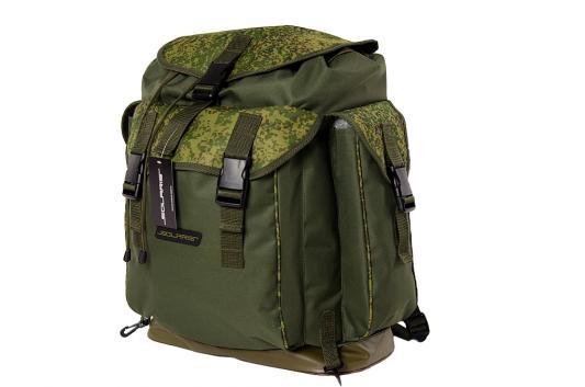 Рюкзак Универсальная Solaris классический с боковыми карманами 43л ПВХ оливковый