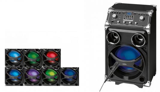 Bluetooth-аудиосистема AEG EC 4829 черный штроборез aeg mfe 1500