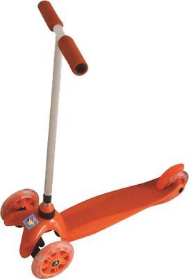 Самокат 1TOY Т55963 зеленый или оранжевый