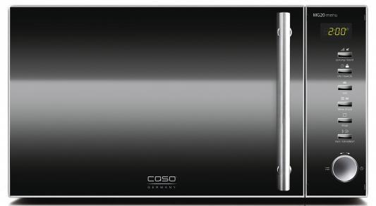 СВЧ CASO MG 20 Menu 800 Вт чёрный цена и фото