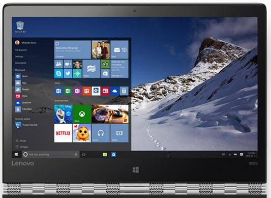 "Ультрабук Lenovo IdeaPad Yoga 900s-12 12.5"" 2560x1440 Intel Core M7-6Y75 80ML005ERK"