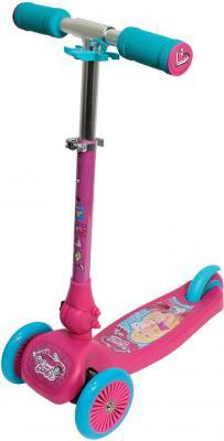 Самокат 1TOY Barbie розовый Т57631