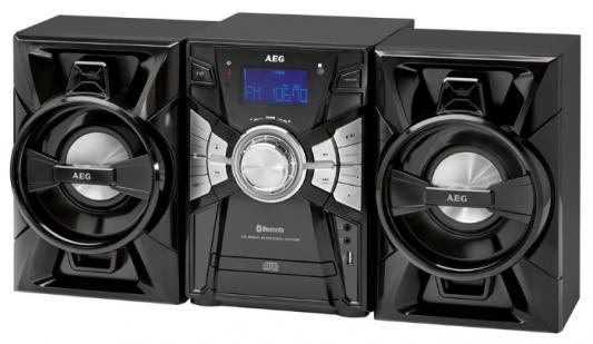 Микросистема AEG MC 4465 BT черный aeg mr 4139 bt schwarz bluetooth радиоприемник