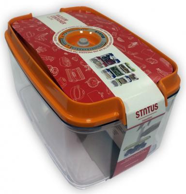 Контейнер для вакуумного упаковщика Status VAC-REC-45 оранжевый контейнер для вакуумного упаковщика status vac rec 20 красный