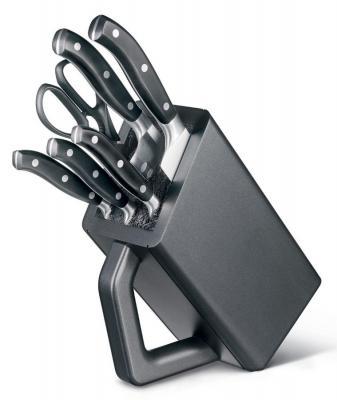 Набор Victorinox Forged 7.7243.6 черный 6шт набор ножей victorinox victorinox forged для стейка подарочная коробка черный